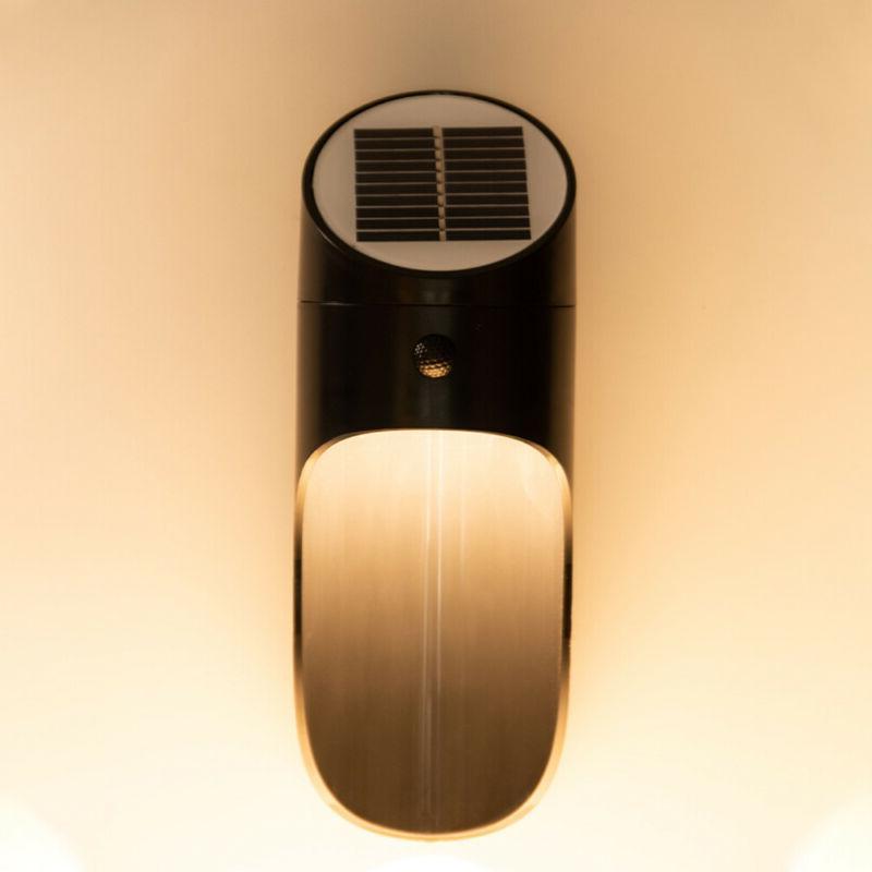 3000K 6500K Solar Power Optical Radar Sensor Light for Wall