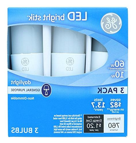 GE LED Bright 10-watt 760-Lumen Medium Box
