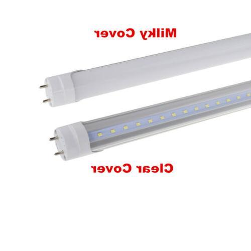 4-100Pack 4FT Bi-Pin T8 G13  LED TUBE Light Dual-End Powered