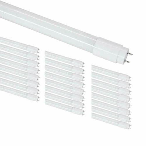 4-25 Glass LED Bulbs 6000K Milky Clear
