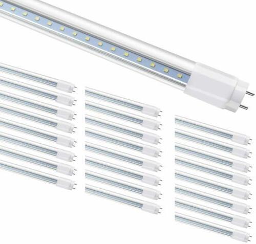 4ft glass led tube light bulbs 18w
