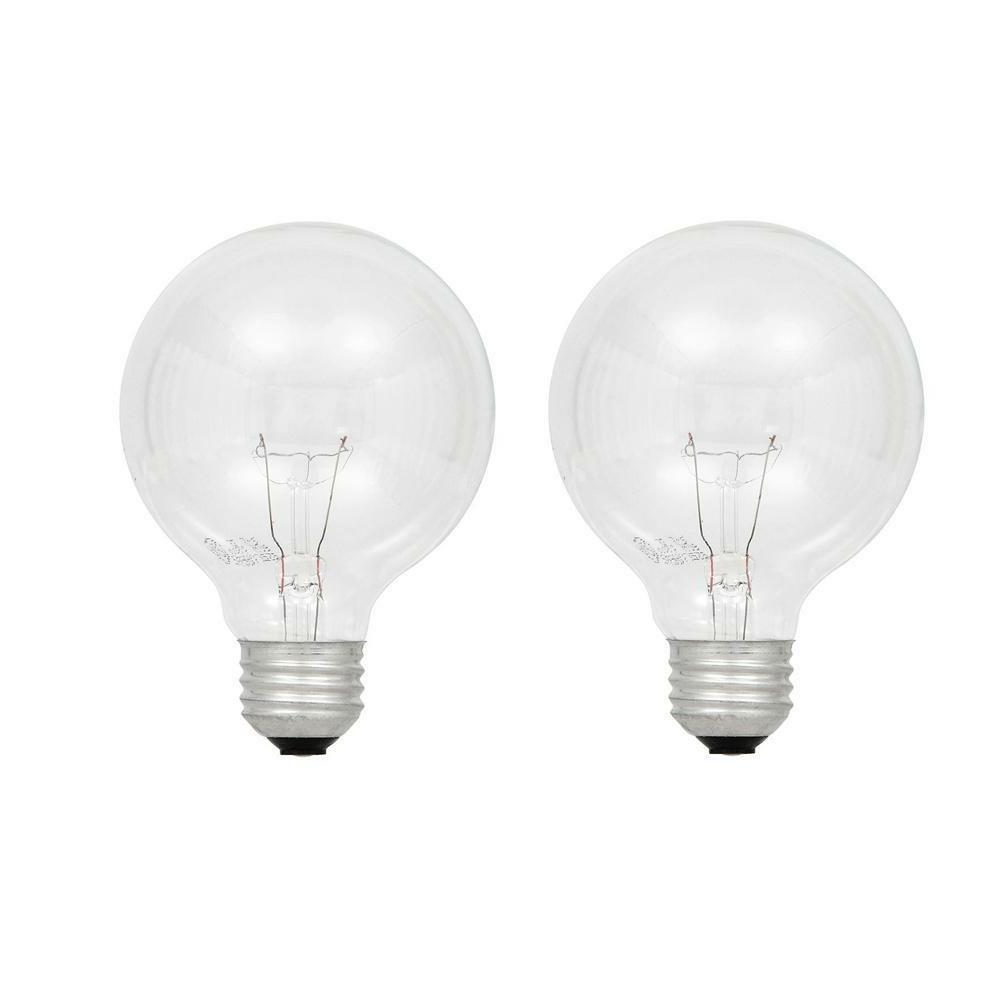 4 Sylvania Life Incandescent Bulbs