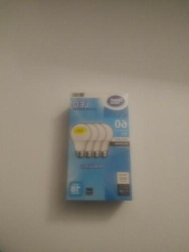 4 pack led daylight 9 watts 60