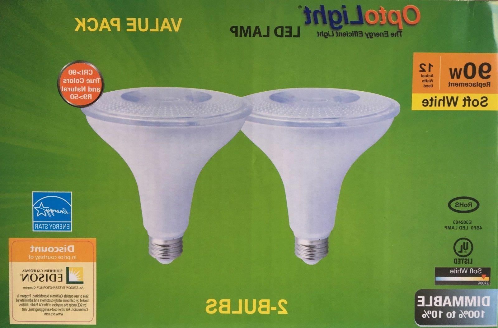 4 pack PAR38 LED 12W 2700K Warm White Indoor/Outdoor Flood L