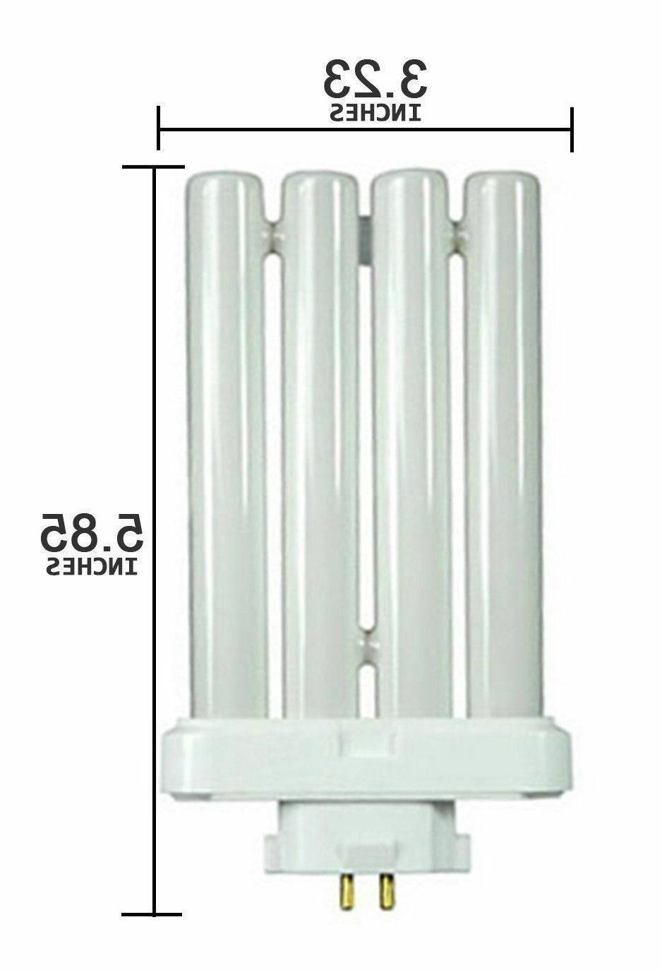 27 Watt 4 Pins Quad Tube Compact Fluorescent Cool Daylight L