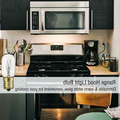 40 Appliance Bulb, T8 Incandescen Light