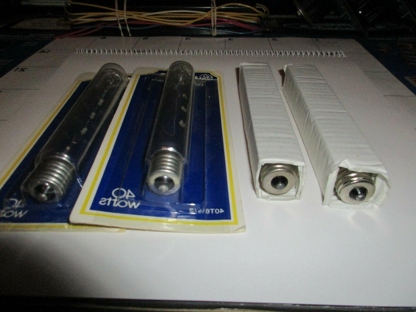 GE 40 Watt Tubular & 20 bulbs Pcs.