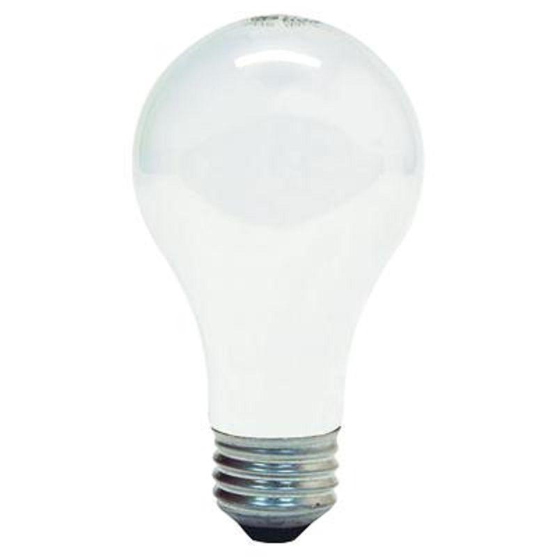 GE 41030 Standard Light Incandescent Bulb E26 Base 75 Watt