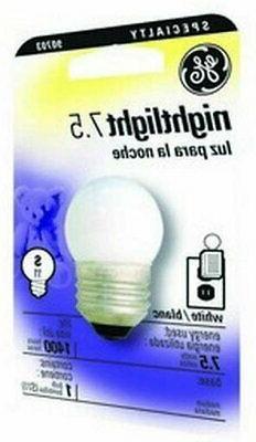 GE Lighting 41267 7.5-Watt Nightlight, Soft White, S11 1CD L