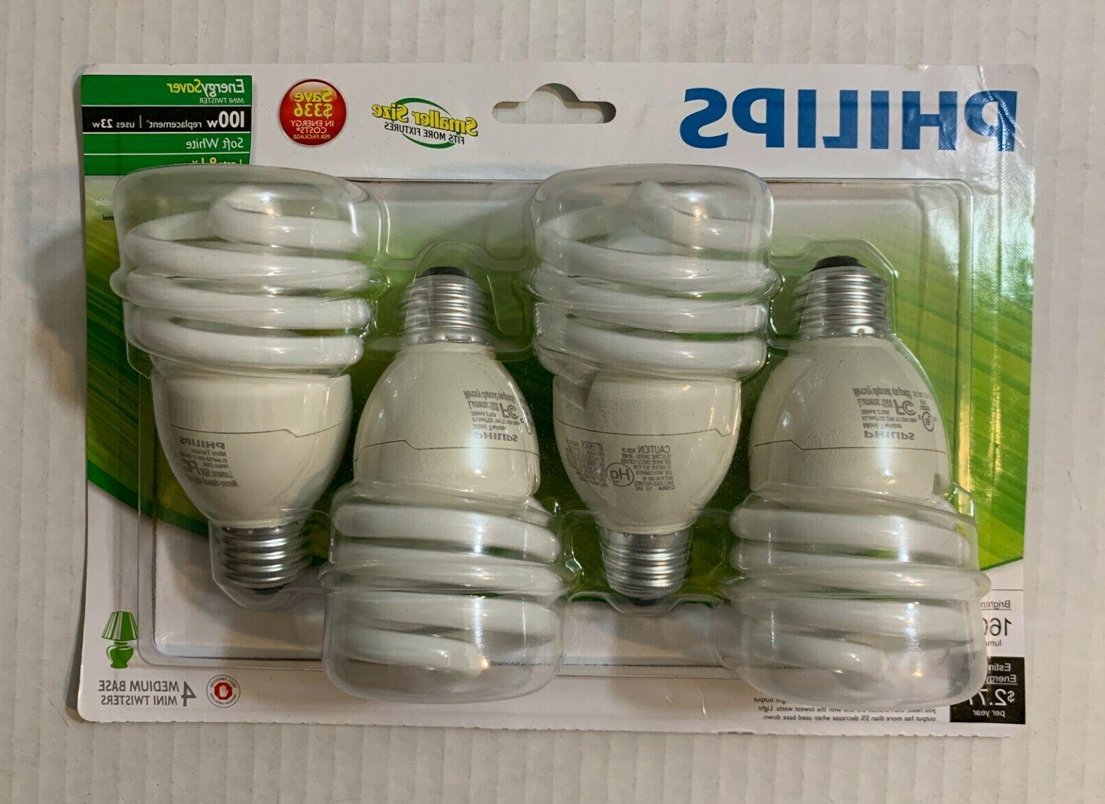 Philips 417097 Energy Saver 23-Watt 100W Soft White CFL Ligh
