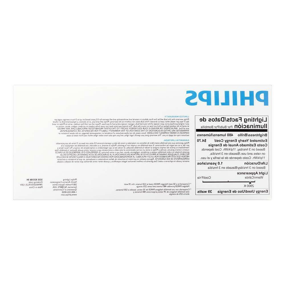 Philips 39-watt EcoVantage Dimmable Flood Light 4-Pack
