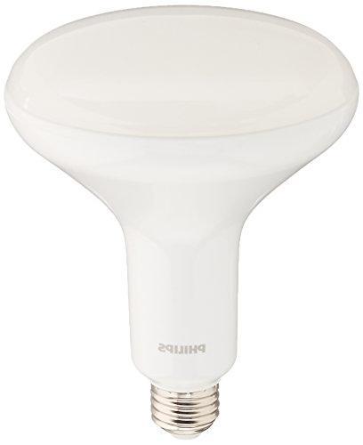 PHILIPS 457010 9W 120V LED BR40 Flood 2700K Warm Glow Dimmab