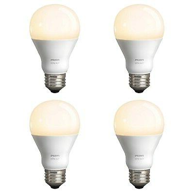 Philips Dimmable 60W A19 Gen 3 Smart 4-Pack