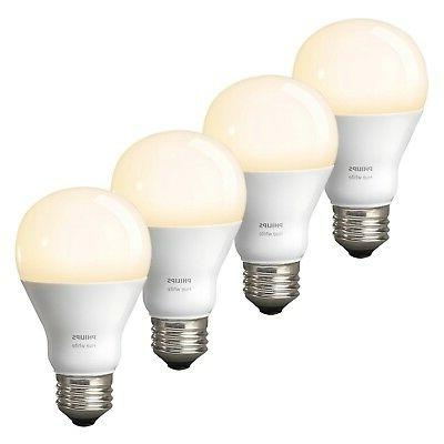 Philips Hue Dimmable 60W Gen 3 Smart Bulbs - 4-Pack