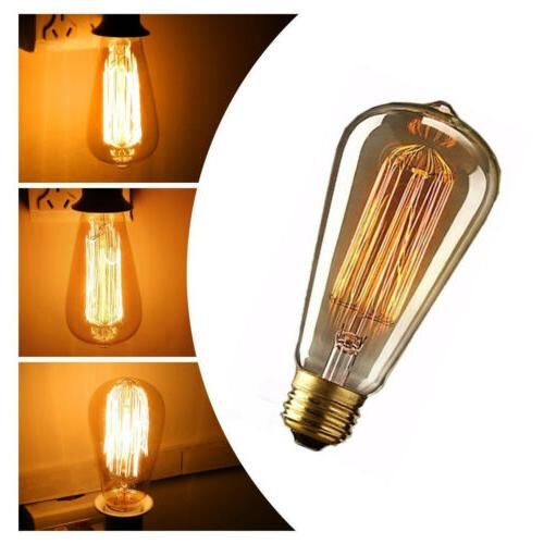 4Pack Edison Bulb Antique Bulbs Dimmable E27