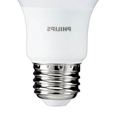 Philips 5.5 Watt A19 40W 450 Lumen Soft Light Bulb, Pack