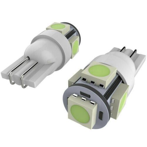 50Pcs Super T10 Wedge 5050 LED Light bulbs 158 168 194