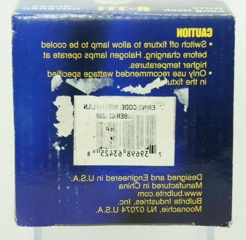 Bulbrite 50R111GU/FL 50-Watt R-111 Reflector, Base