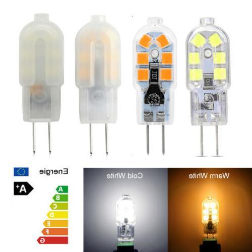 5W Bulb Bi-Pin Base Bulb Equivalent AC/DC Warm Cool White