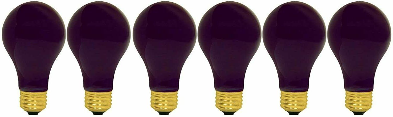 6 Watt Incandescent Light Bulbs Blacklight