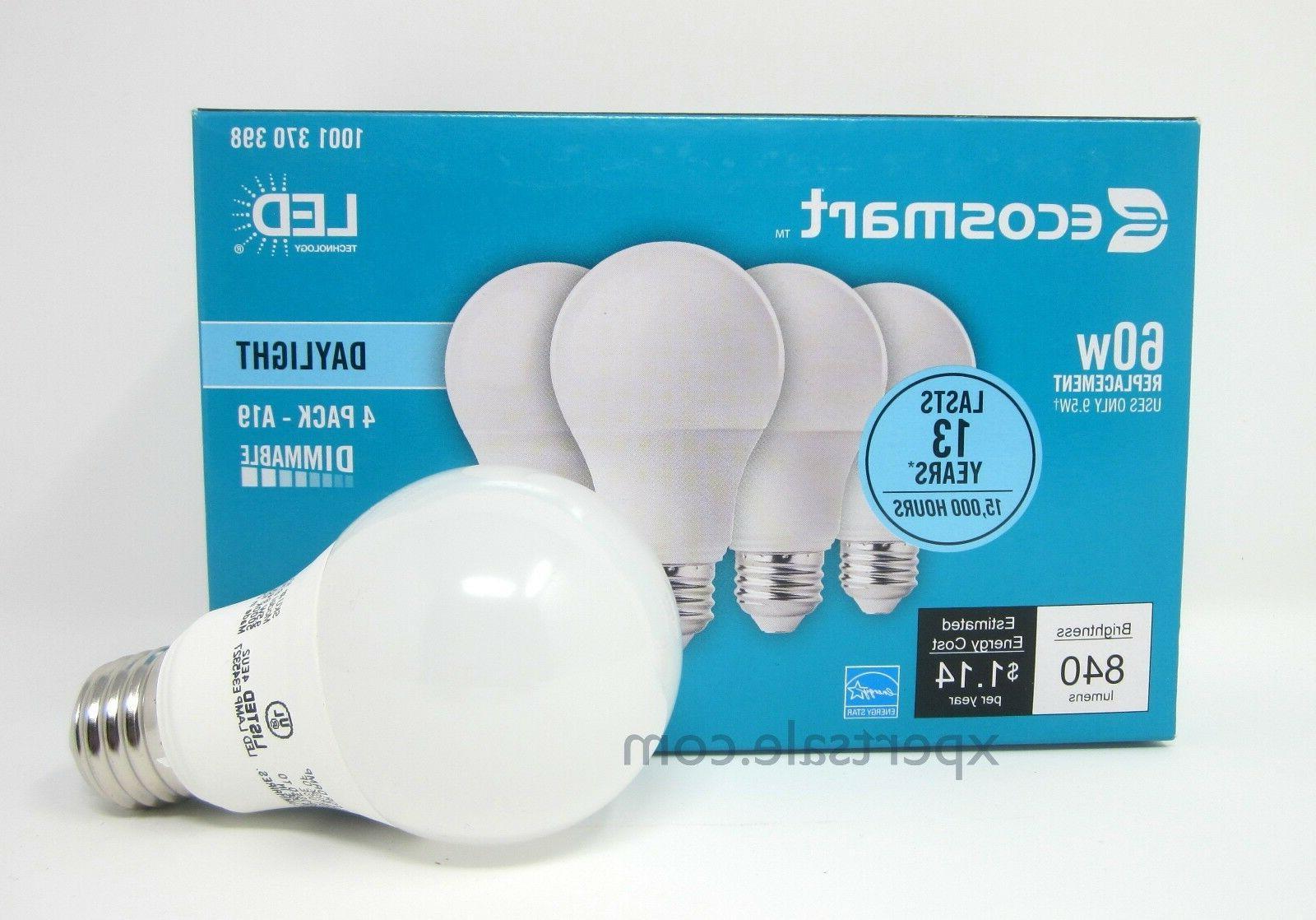 60 watt ecosmart a19 dimmable energy save