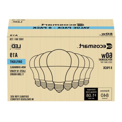 EcoSmart Equivalent Non-Dimmable LED Daylight