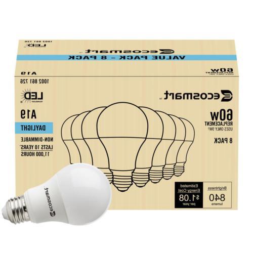 EcoSmart 60-Watt Equivalent Non-Dimmable
