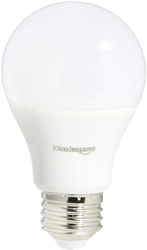 AmazonBasics 60 Watt Equivalent, Daylight, Dimmable,