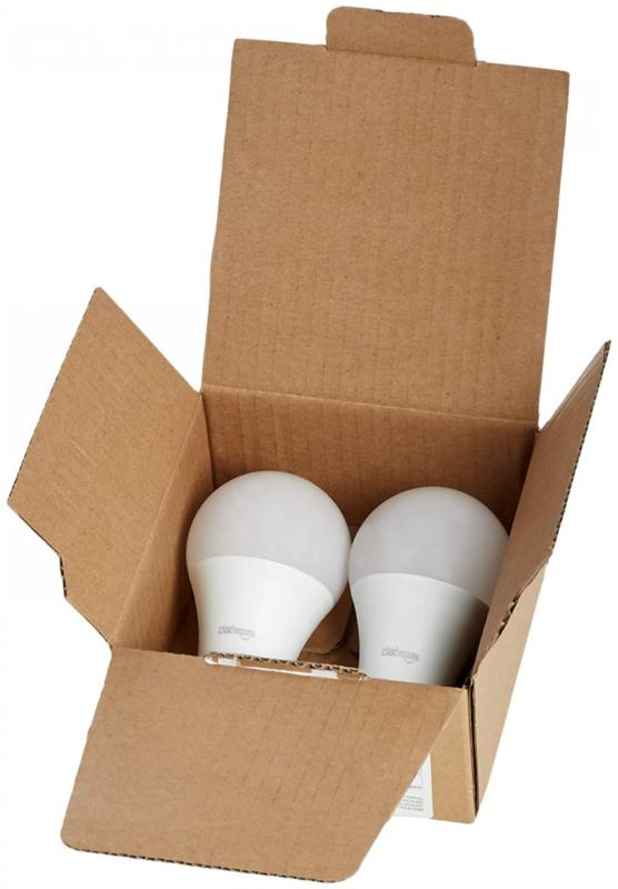AmazonBasics 60 Daylight, Dimmable, Light 2-Pack