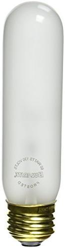 Bulbrite 60T10F 60 Watt Incandescent T10 Tube Medium Base Fr