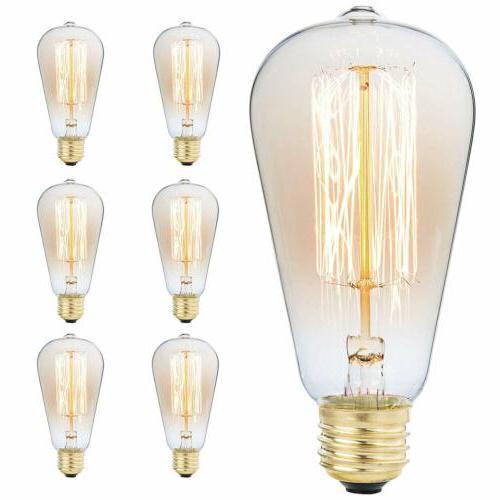 60w 110v edison antique vintage style light