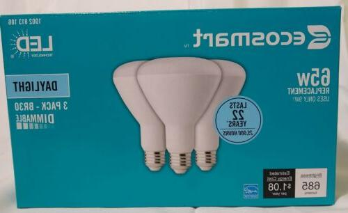 65 watt equivalent br30 dimmable led light