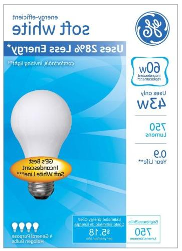 GE Lighting 66247 White Light with Medium Base,