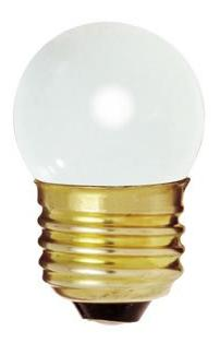 Bulbrite 702007 - 7.5S11W - White 7.5 Watt S11 Light Bulb, 1