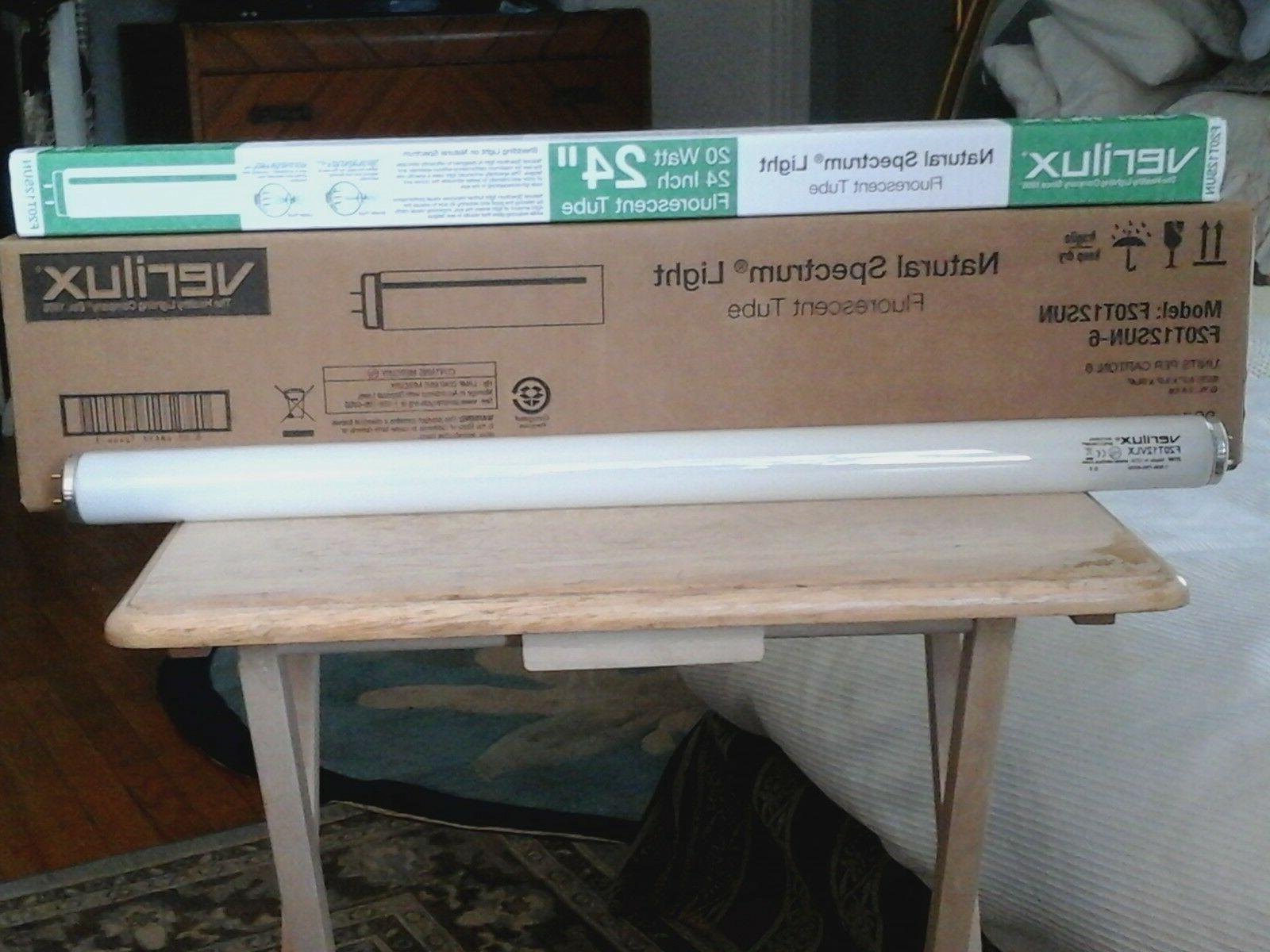 72 f20t12 sun fluorescent light bulbs low
