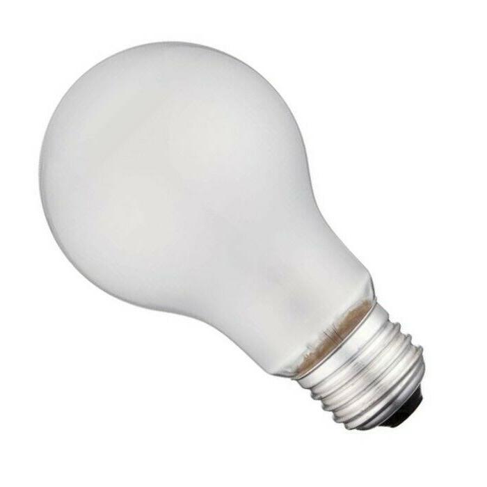 Incandescent Light Bulbs Watt Rough Service Heavy Duty 4 Pack