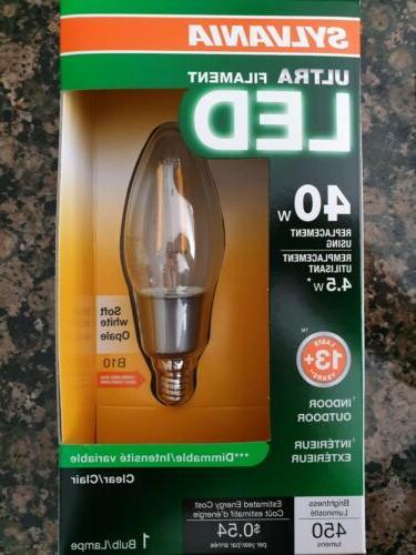 Sylvania 79518 LED Household 40w Light Bulbs 5 Pack
