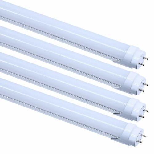 8-100 G13 Bi-Pin 4FT Tube Bulbs LED Shop Lights