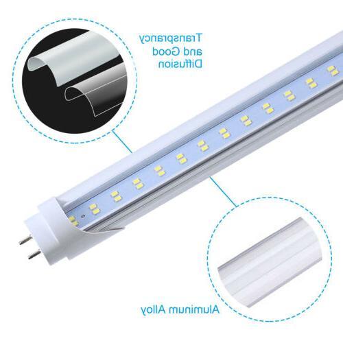 4-100Pack 4FT LED Tube T8 22W 28W 5000K 6500K