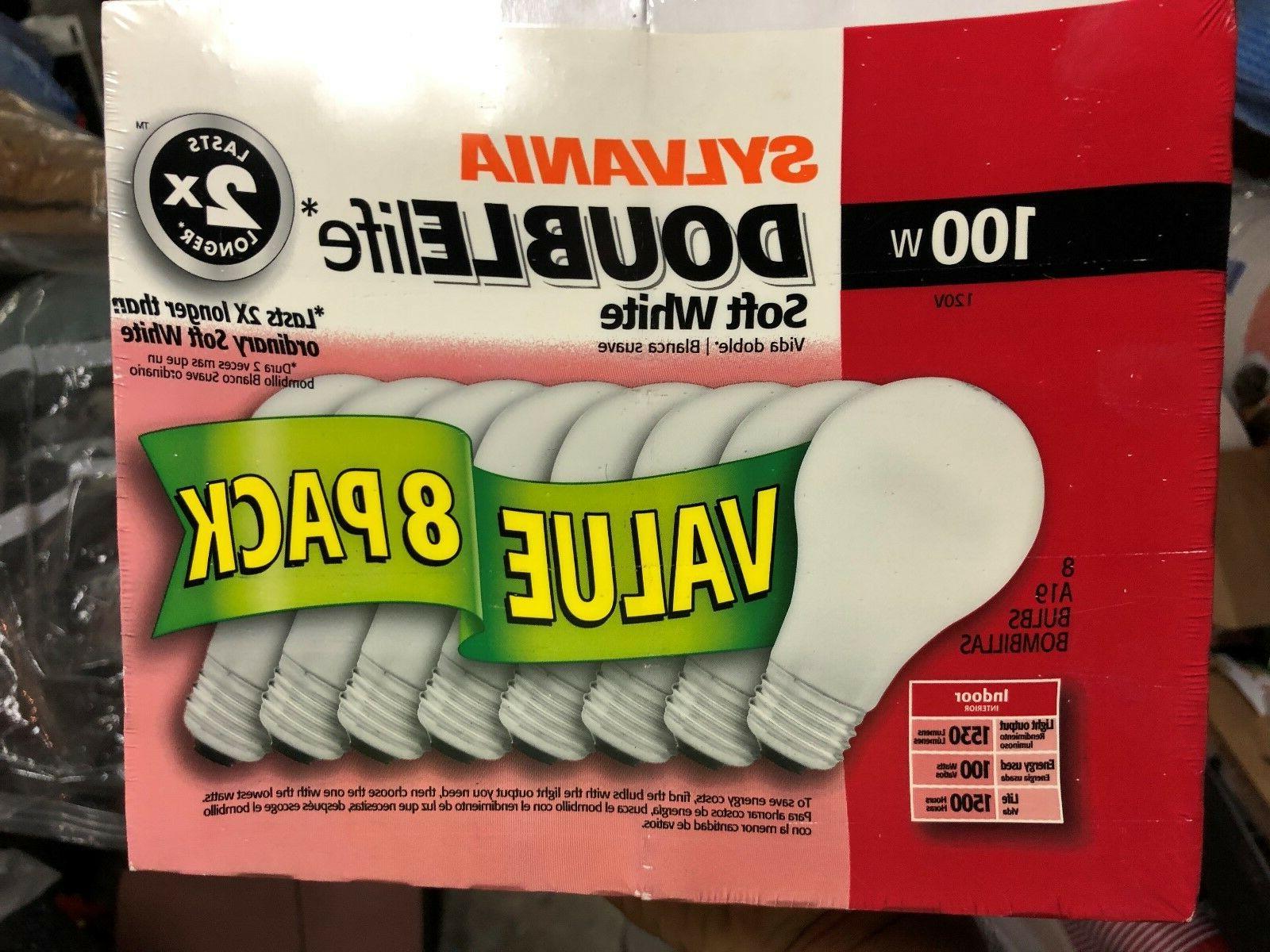 8 new 100 watt light bulbs doublelife