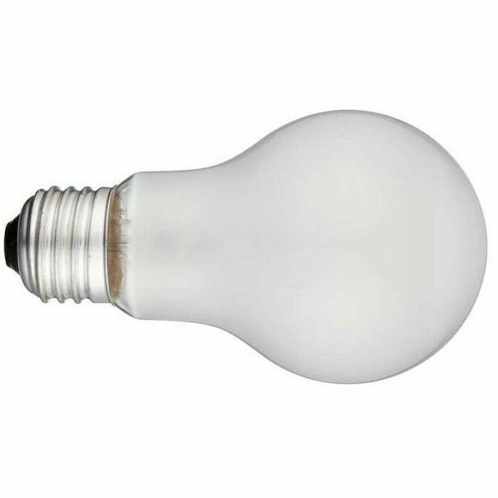 Incandescent Bulbs 75 Watt 5000 Rough Service Heavy 4