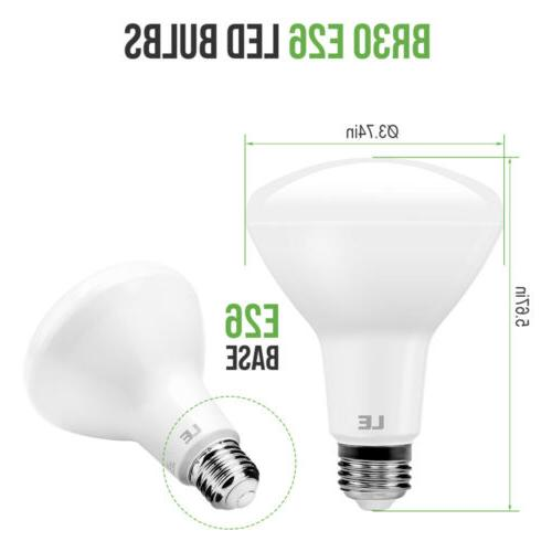 8 Pack LED Bulb 10.5W White Flood Bulbs