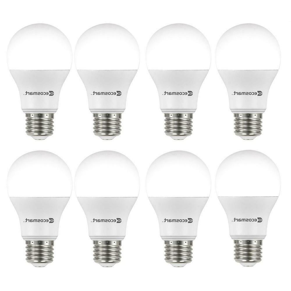 8 pack led 60w 9w soft white