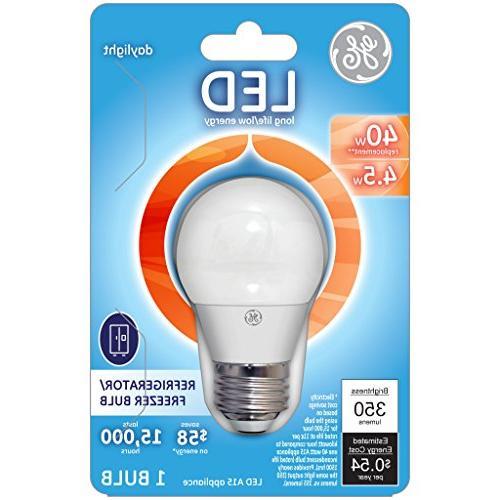 GE LED 4.5-watt 350-Lumen A15 Refrigerator Base,
