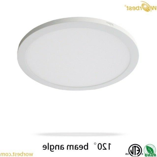 9 inch slim panel light 6 inch