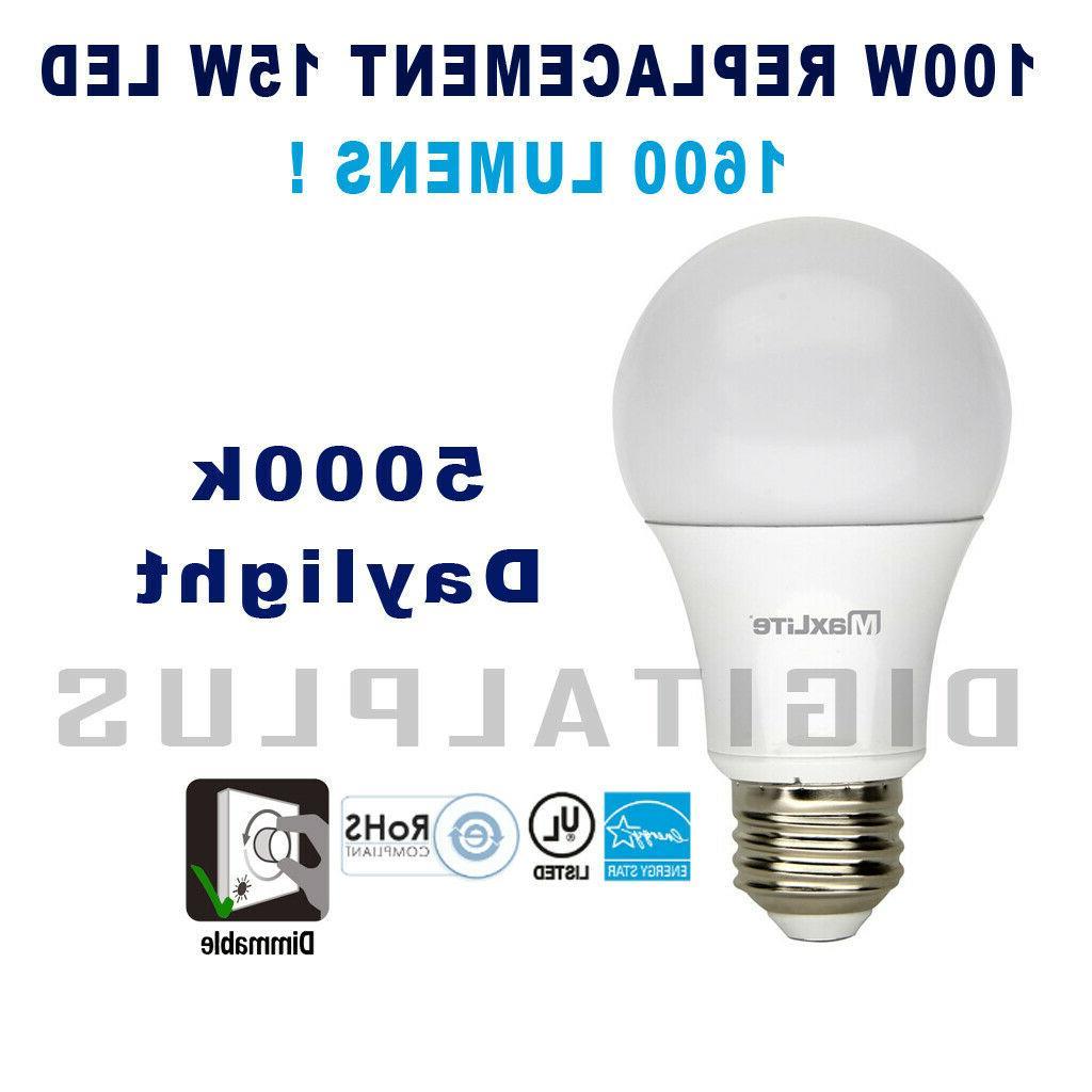 Maxlite Bulbs Daylight Watt QTY 5