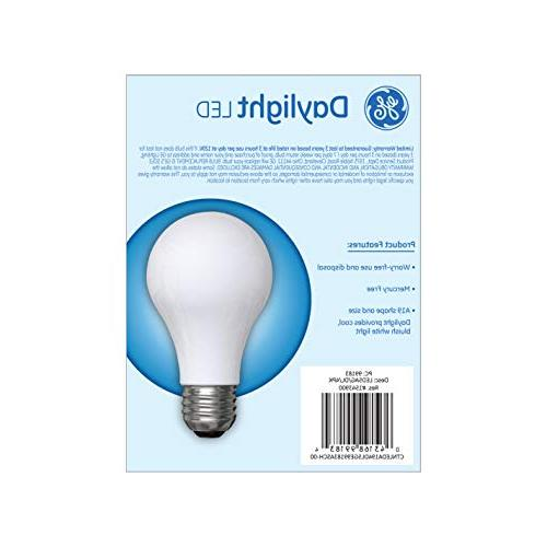 GE Finish Purpose A19 Daylight 5 , 450-Lumen Medium