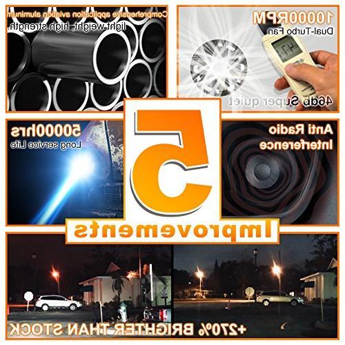 HIKARI Bulbs Conversion , LED 6K Yr Warranty