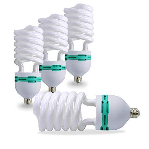 LimoStudio Photo Light Bulb - Pack of 4 - CFL 45 watt - Dayl