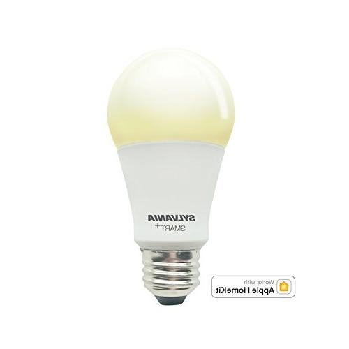 Sylvania 74579 Smart+ A19 Soft White LED Bulb, Works with Ap